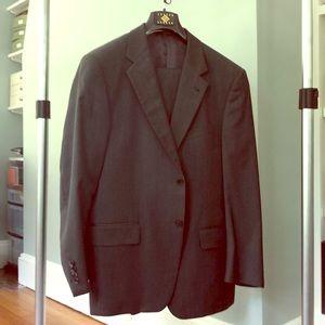 Joseph Abboud Charcoal Pinstripe suit